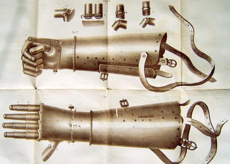 Die eiserne Hand des Ritters Götz von Berlichingen