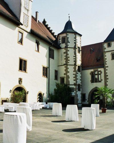 Schlosshotel Götzenburg Burginnenhof